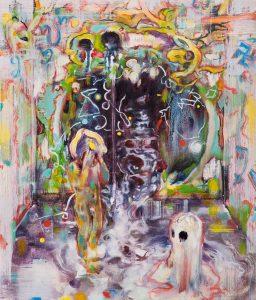 Dominic Shepherd | Antechamber | 2010 | Oil on canvas | 36x31cm