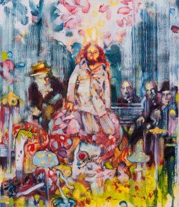 Dominic Shepherd | Harvest King | 2012 | Oil on canvas | 35x30cm