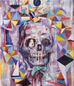 Dominic Shepherd | Helter Skelter | 2010 | Oil on canvas | 36x31cm