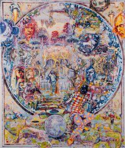 Dominic Shepherd | New Jerusalem | 2012 | Oil on canvas | 183x153cm