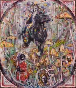 Dominic Shepherd | The Fool | 2012 | Oil on canvas | 71x61cm
