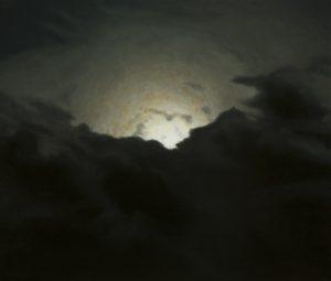 John Stark | Black Sun (Dissolution) | 2009 | Oil on panel | 42x50cm