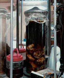 John Stark   Elixir   2013   Oil on wood panel   50x41cm