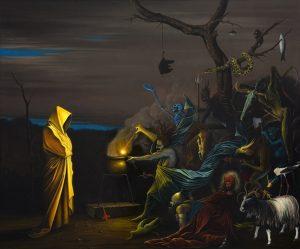 John Stark   Fear Eats the Soul   2010   Oil on panel   50x60cm