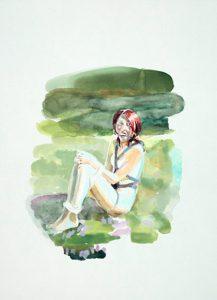 Caro Suerkemper   Untitled   2006   Gouache on paper   30x22cm