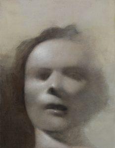 Gavin Tremlett | Amusement 10 | 2010 | Oil, charcoal & graphite on paper | 49x39cm