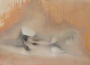 Gavin Tremlett | Amusement 12 | Oil, charcoal & graphite on paper | 80x109cm