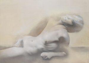 Gavin Tremlett | Amusement 2 | 2010 | Oil, charcoal & graphite on paper | 80x109cm