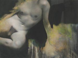 Gavin Tremlett | Amusement 3 | 2010 | Oil, charcoal & graphite on paper | 79x104cm