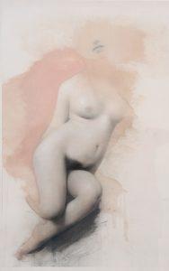 Gavin Tremlett | Amusement 5 | 2010 | Oil, charcoal & graphite on paper | 106x69cm