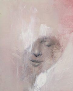 Gavin Tremlett | Amusement 6 | Oil, charcoal & graphite on paper | 2010 | 56x45cm