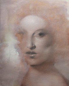 Gavin Tremlett | Amusement 7 | 2010 | Oil, charcoal & graphite on paper | 52.5x42cm