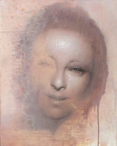 Gavin Tremlett | Practice 4 | 2011 | Oil, charcoal & graphite on canvas | 50x40cm
