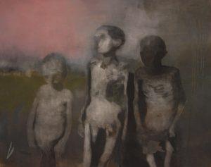 Ben Walker | Rose clouds of holocaust | 2010 | Oil on linen | 51x76cm