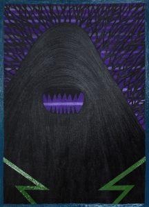 Alex Gene Morrison | Demon | 2014 | Acrylic & oil on canvas | 90x65cm