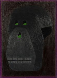 Alex Gene Morrison | Skull | 2014 | Oil on canvas | 92x66cm