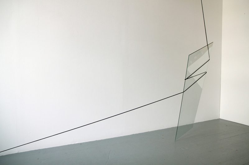 Ben Woodeson | Comfort & Joy | 2014 | Glass and cord | Dimensions variable