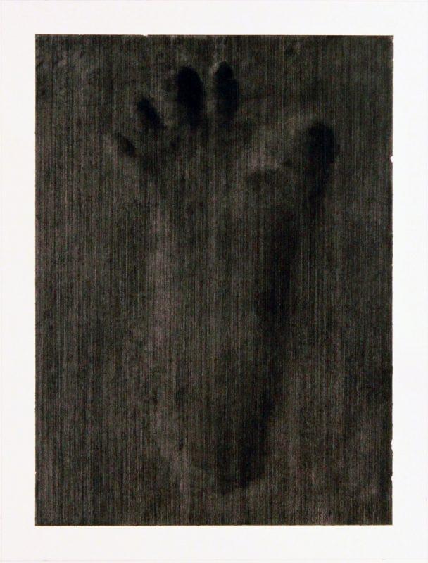 Reece Jones | The Undisputed Heavyweight Champion of the World III | 2014 | Charcoal polymer varnish on paper | 50x32cm