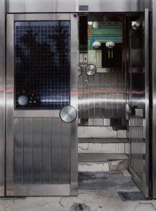 John Stark | Enter | 2014 | Oil on wood panel | 30x22cm