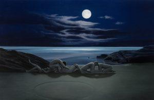 John Stark | The Cove | 2014 | Oil on wood panel | 30x46cm
