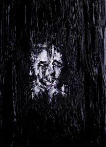 Luke Jackson | Flowers in the Sunlight | 2014 | Oil & mixed media on canvas | 18x13cm