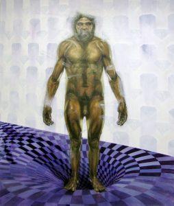 Gavin Nolan | As Above, Below | 2014 | Oil on canvas | 185x155cm