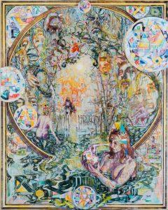 Dominic Shepherd | Season of the Witch | 2014 | Oil on linen | 175x140cm