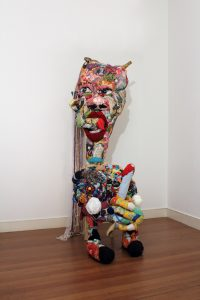 Joshua Raffell | Big Bell | 2013 | Mixed Media | 230x80x80cm