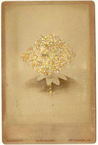Tom Butler   Aufrecht   2014   Gouache on Albumen print   16.5×10.5cm