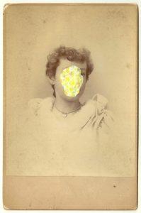 Tom Butler   Emily   2014   Gouache on Albumen print   16.5×10.5cm