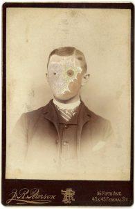 Tom Butler   Pearson   2015   Gouache on Albumen print   16.5×10.5cm