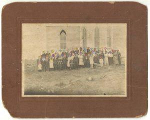 Tom Butler   Sunday School   2014   Gouache on Albumen print   25.4×20.3cm