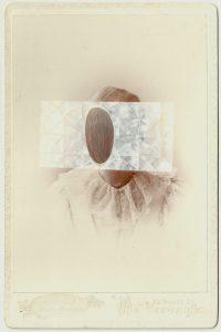 Tom Butler   Van Arnam   2014   Gouache on Albumen print   16.5×10.5cm