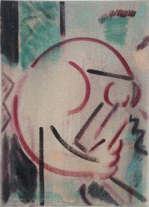 Kiera Bennett   Ambidextrous   2015   Oil on canvas   35x25cm