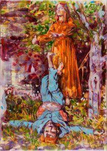 Dominic Shepherd | The Hanged Man | 2015 | Oil on linen | 42x30cm