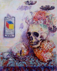 Dominic Shepherd | The Magician's Table | 2015 | Oil on linen | 32x40cm