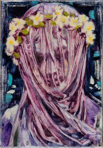 Dominic Shepherd | Veil | 2015 | Oil on linen | 20x14cm