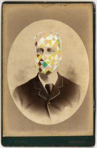 Tom Butler   Ayling   2015   Gouache on Albumen print   16.5×10.5cm