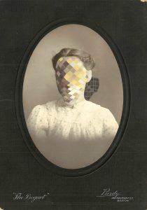 Tom Butler   Bogart   2014   Gouache on Albumen print   8.5×13.5cm