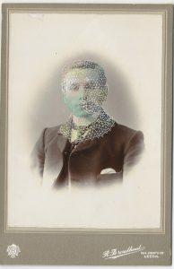 Tom Butler   Broadhead   2015   Gouache on Albumem print   17x11cm