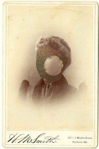 Tom Butler   Miss Smith   2014   Gouache on Albumen print   16.5×10.5cm