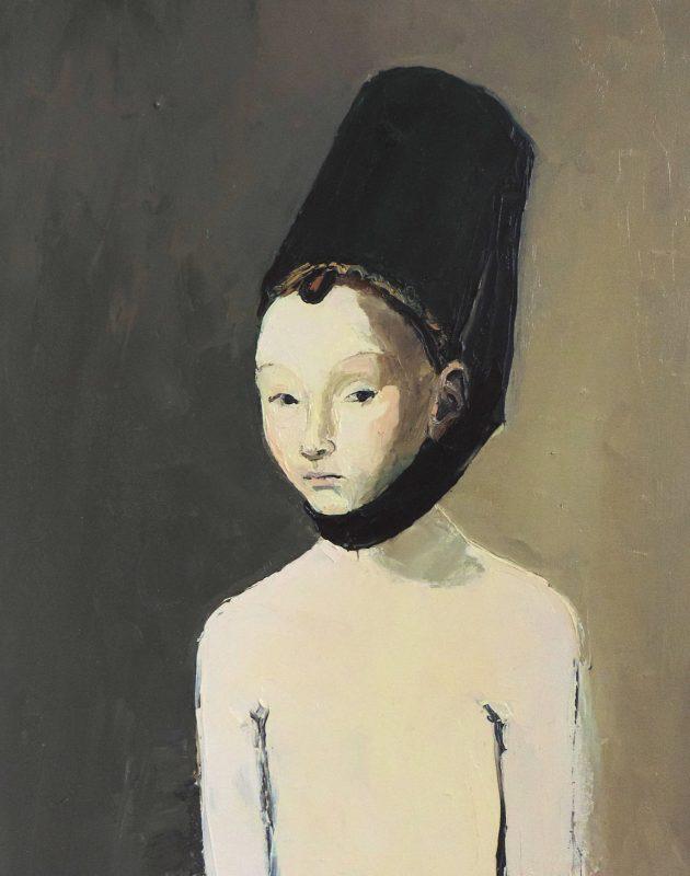 Lisa Wright | On a Black Cushion of Velvet | 2014 | Oil on canvas | 50x40cm