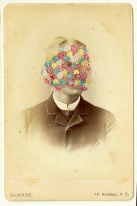 Tom Butler   Garber   2014   Gouache on Albumen print   16.5×10.5cm