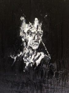 Luke Jackson   Since Shade Relents   2015   Oil on canvas panel   18x13cm