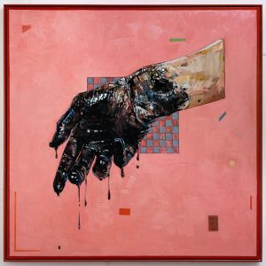 Andrew Salgado | For You | 2015 | Oil and pastel on canvas | 195x195cm