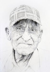 Jelena Bulajic | Aco – A Study | 2015 | Watercolour and pencil on paper | 36.5×25.5cm