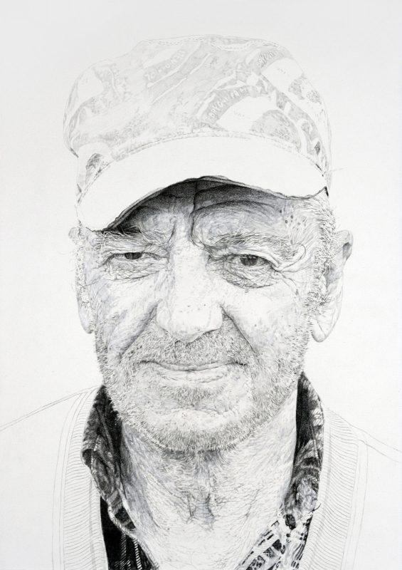 Jelena Bulajic | Bozo – A Study | 2015 | Watercolour and pencil on paper | 36.5×25.5cm