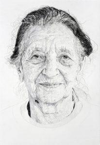 Jelena Bulajic | Mica – A Study | 2015 | Watercolour and pencil on paper | 36.5×25.5cm