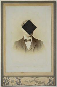 Tom Butler | Mr Robinson | 2015 | Gouache on albumen print | 16.5×10.5cm
