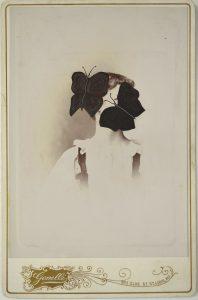 Tom Butler | Olive | 2015 | Gouache on albumen print | 16.5×10.5cm
